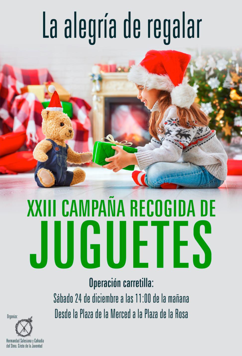 Campana recogida juguetes 2019