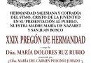 XXIX PREGÓN DE HERMANDAD