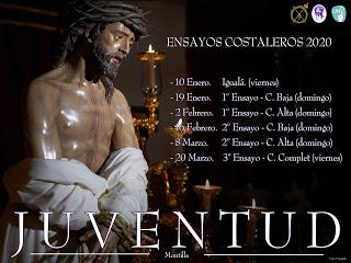 ENSAYOS COSTALEROS JUVENTUD 2020